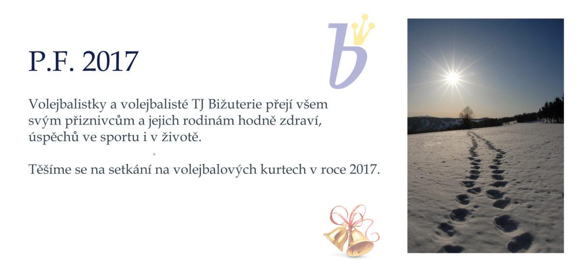 TJ Bižuterie - PF 2017