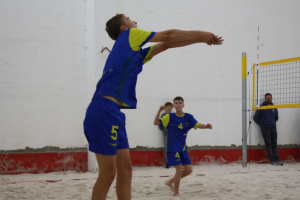 Beach volejbal - žáci Jablonec