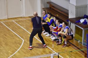 Volejbalistky TJ Bižuterie proti TJ Lokomotiva Liberec